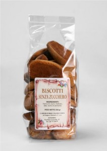 Biscotti senza zucchero - con fruttosio