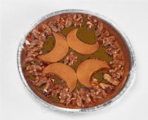 Crostata al gianduia e noci